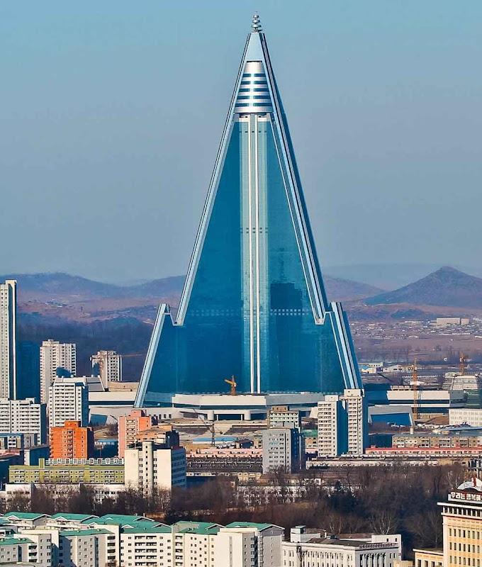 Ryuguong: O misterioso hotel que nunca abriu as portas