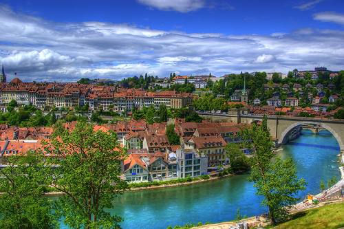 Những ngày ở Châu Âu- Nhà cổ ở Bern