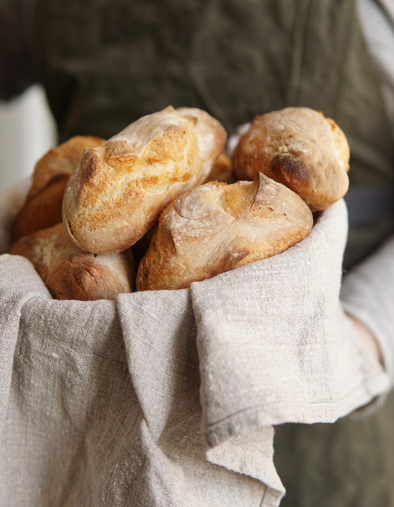 Itse-leivottu-leipä, leivonta