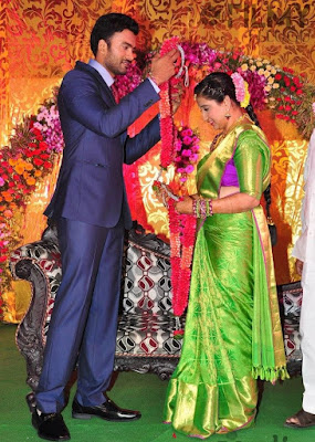 Telugu Actor Shiva and Anusha wedding photos010