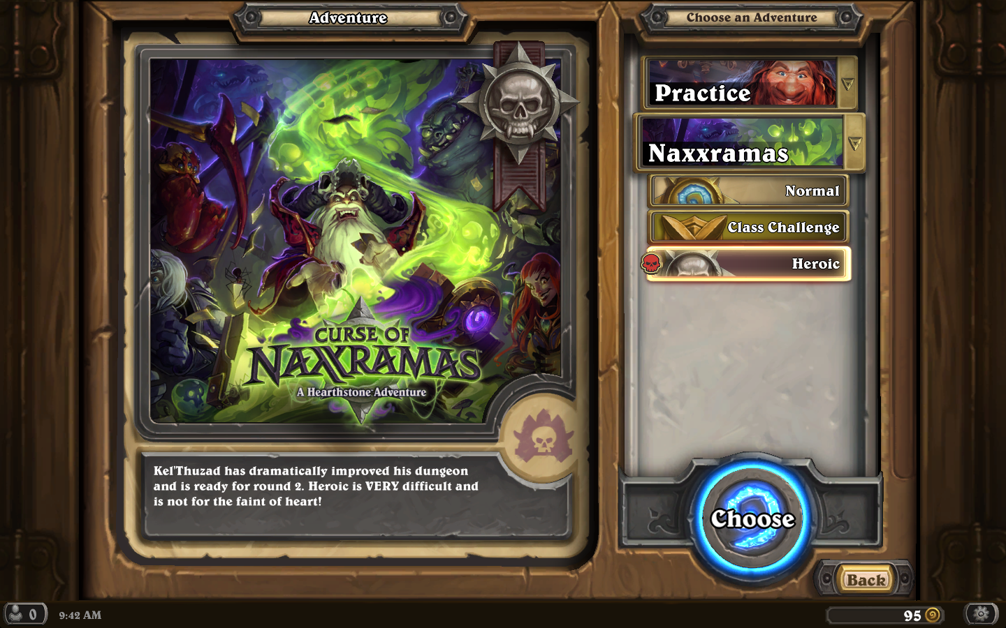 Blizzard Hearthstone Curse of Naxxramas card game expansion