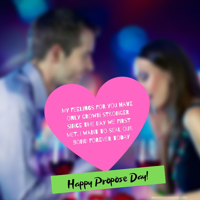Propose Day  Wishes 2019