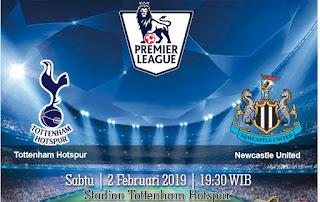 Prediksi Tottenham Hotspur Vs Newcastle United 2 Febuari 2019