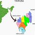 Muslim Population in Districts Of Tripura
