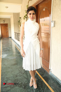 Actress Samantha Latest Picture Gallery in White Stylish Dress  0162.JPG