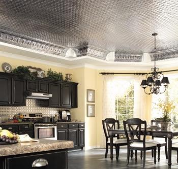 Kitchen Ceiling Ideas | old world living - Kitchen Ceiling Design