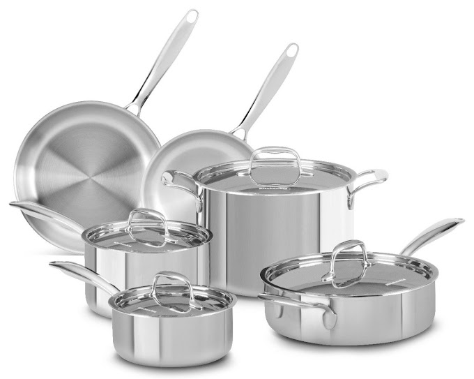 Get a Free 10-Piece Cookware Set  with KitchenAid