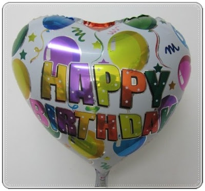 Balon Foil Hati Happy Birthday