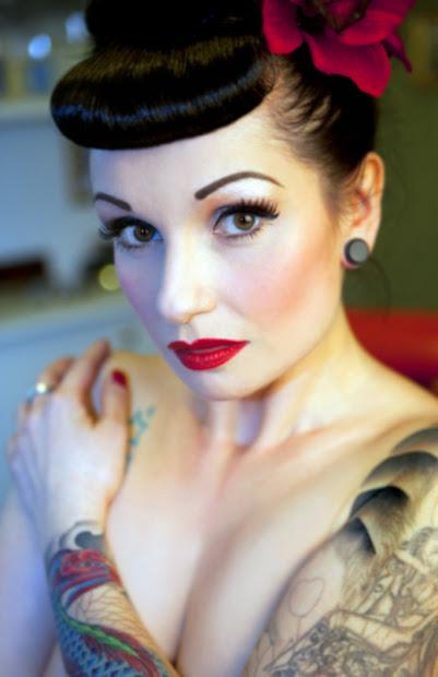 natalie amor . vintage glamour