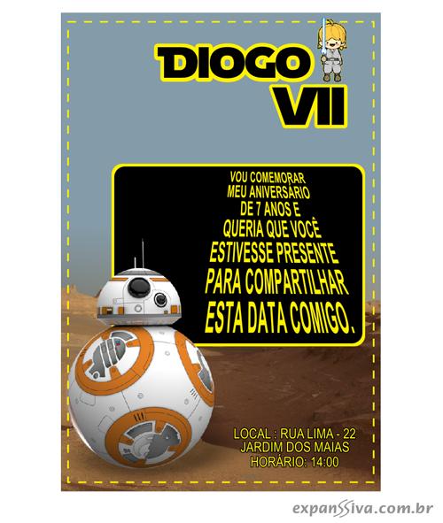 convite R2-D2