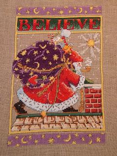 Believe cross stitch: QuiltBee