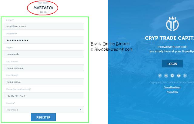 Panduan Cara daftar di Cryp Trade bagian 2