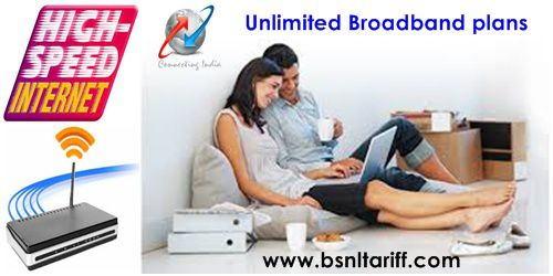BSNL Broadband only Unlimited plan regularized