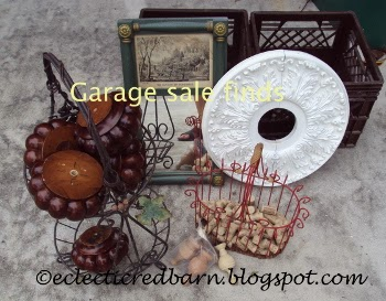 Eclectic Red Barn: Dollar garage sale finds