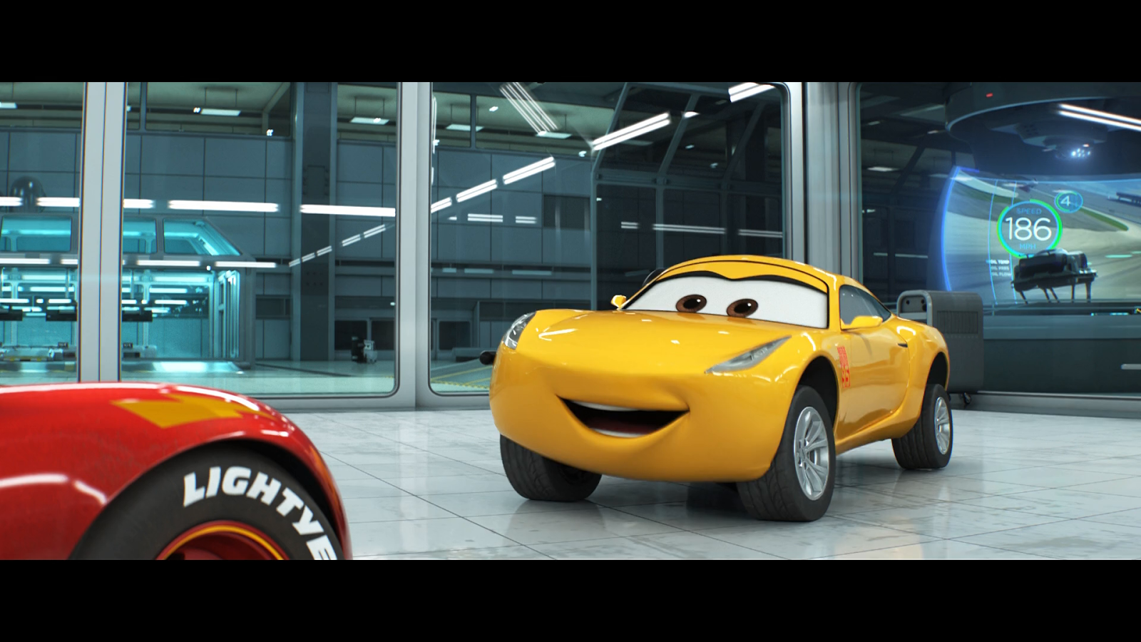 Cars 3 (2017) BRRip 1080p Español Latino - Ingles captura 4