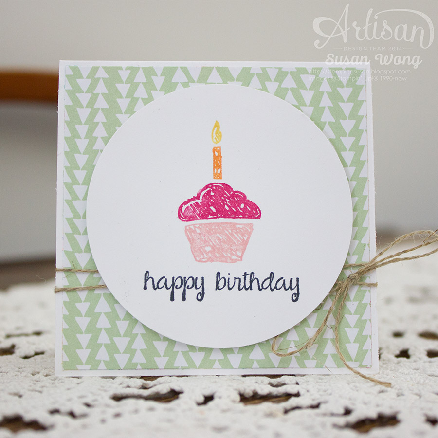 Birthday Surprise 3x3 1/3 ~ Susan Wong