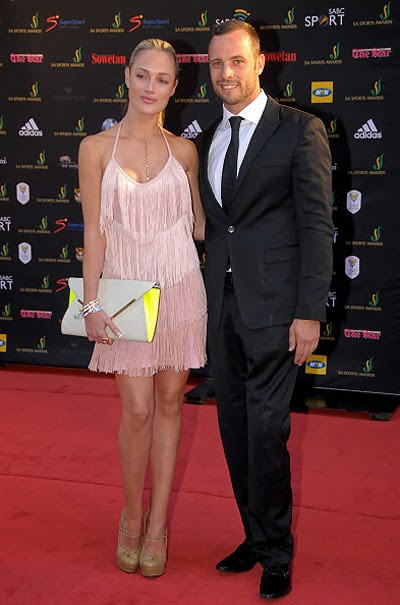 Riva Stinkamp and Oscar Pistorius