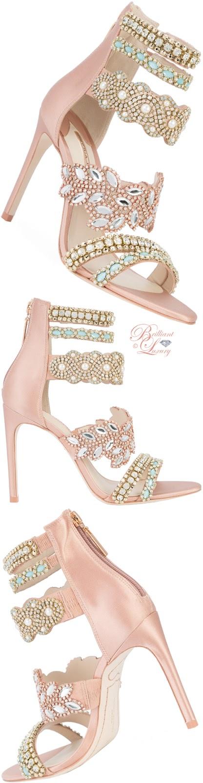 Brilliant Luxury ♦ Brilliant Luxury ♦ Sophia Webster beaded strap sandals