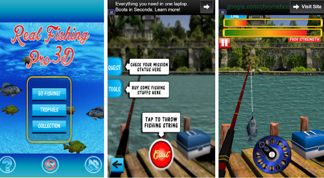 Real Fishing Pro 3D Mod APK