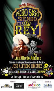 Concierto de Luis Alfredo Jimenez en Bogotá