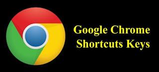 Google chrome short cut key
