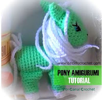 Mi pequeño pony crochet amigurumi
