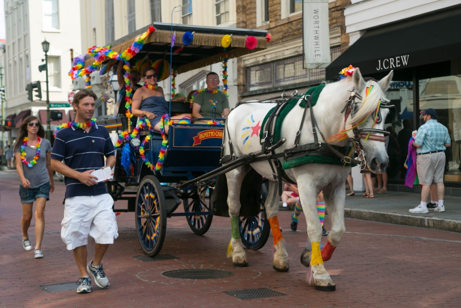 Charleston Daily Photo: Charleston Pride Parade 2016