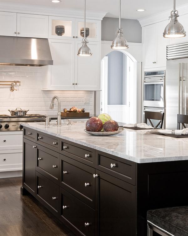 Black and White Kitchen Decor Ideas