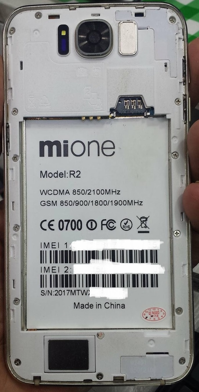 Mione Hero II Flash File Firmware MT6580 Android 60 Dead