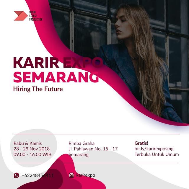 Job Fair KARIR EXPO Semarang (GRATIS)