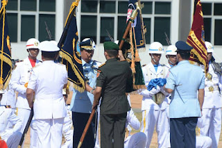 Panglima TNI Resmikan 4 Kesatuan Baru