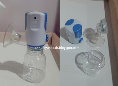 BATTERY OPERATED BREAST PUMP, ibu susu ubud