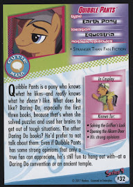 MLP Quibble Pants Series 4 Trading Card