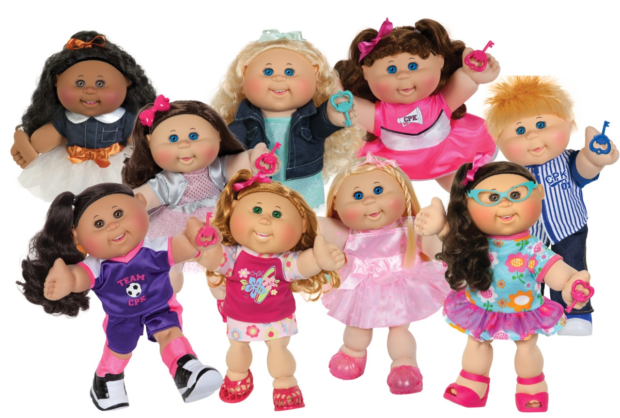 You can buy the world's largest collection of cabbage patch kids.