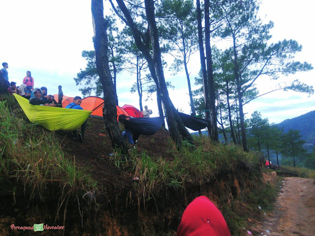 tempat camping hits di sumut