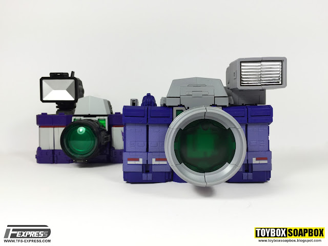 fanstoys spotter and maketoys visualizers camera modes