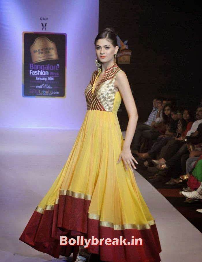 Gunkiran kaur show at blenders pride bangalore fashion week 11 pics Bangalore fashion style week