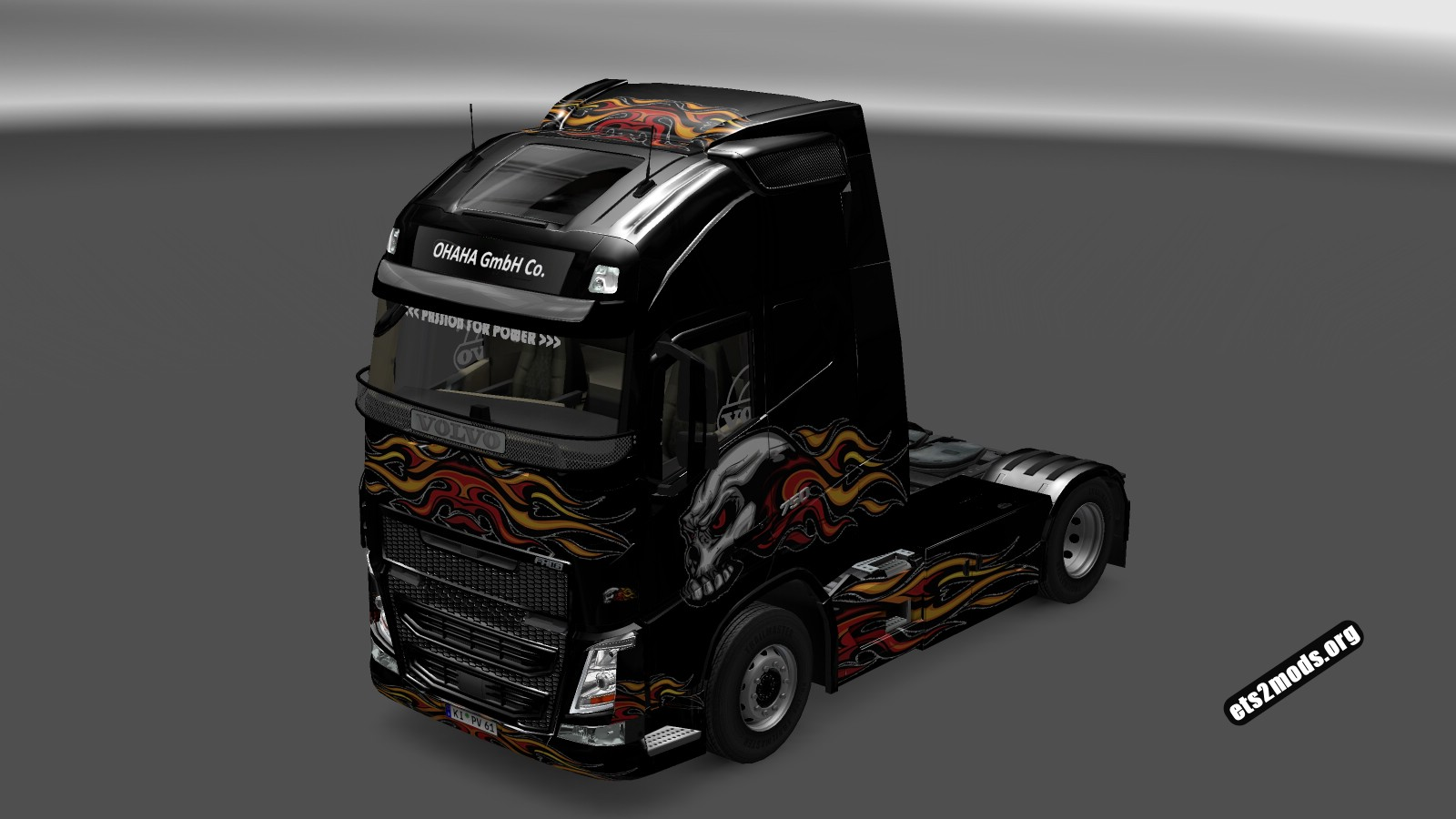 Two Skull Skins -Volvo 2012 and 2013