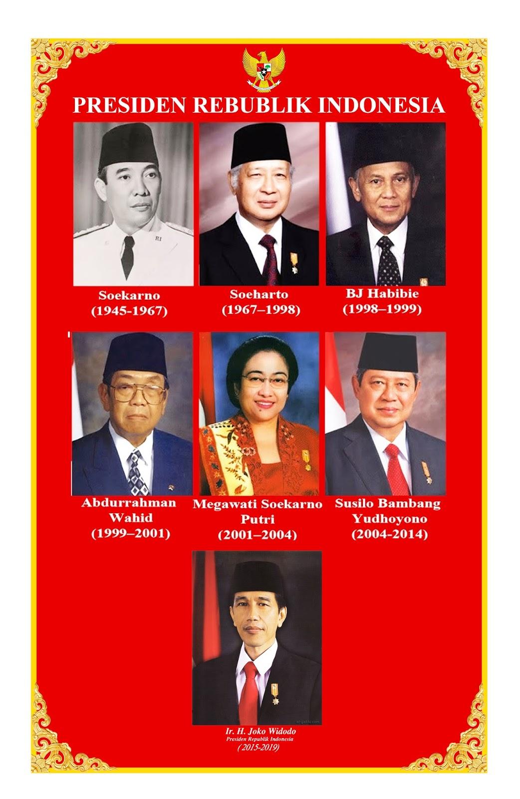FOTO -FOTO PRESIDEN & WAKIL PRESIDEN INDONESIA PERTAMA 48