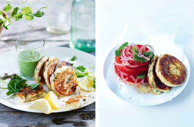 ... года / Four seasons: Zucchini, Ham, Basil and Ricotta Fritters
