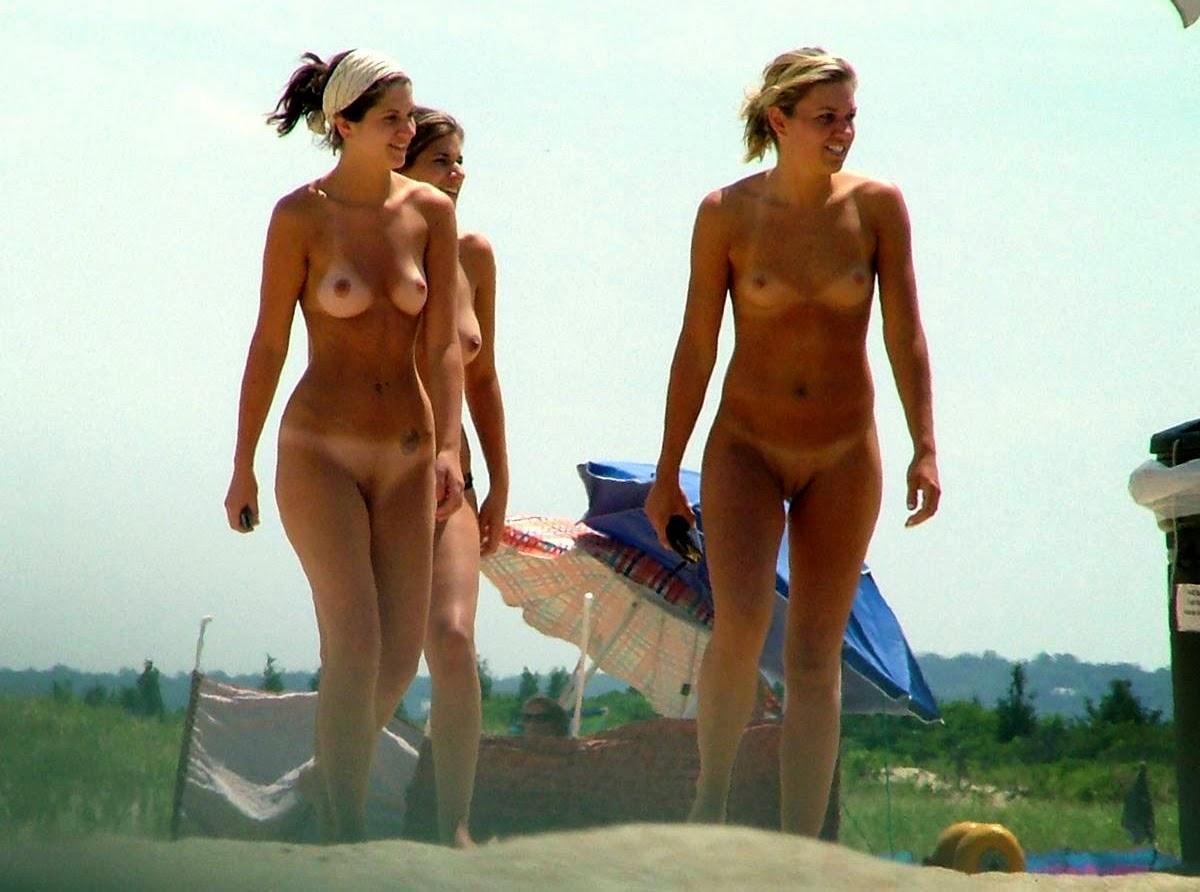women nude beach Sandy hook