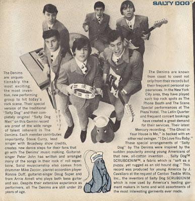 The Denims - Columbia  Singles