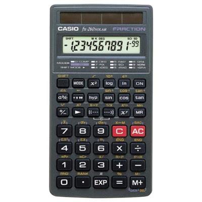 Kalkulator Casio fx-260 SOLAR