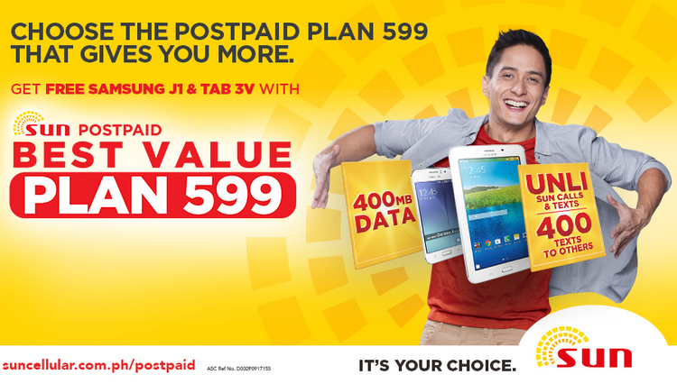 Sun Postpaid Best Value Plan 599
