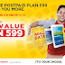 Get Samsung Galaxy J1 and Tab 3V for Free with Sun Postpaid Best Value Plan 599