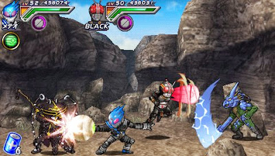 All Kamen Rider - Rider Generation 2 ISO PPSSPP For Android