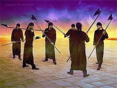Bwana akamwambia, Pita kati ya mji, kati ya Yerusalemu,UKATIE ALAMA KATIKA VIPAJI VYA NYUSO VYA WATU WANAOUGUA NA KULIA KWASABABU YA MACHUKIZO YOTE YANAYOFANYIKA KATI YAKE.