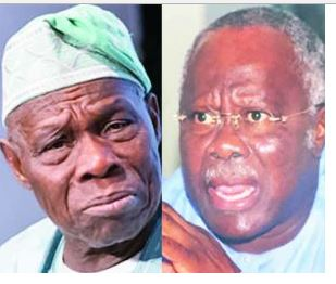 Shut Up, You're a Serial BETRAYER - PDP's Bode George Tears OBASANJO To Shred In Defense of Buhari, Reveals Shocking Secrets