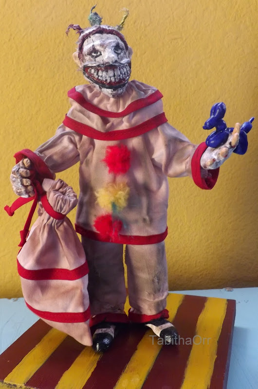Twisty the Clown Sculpture Completed from American Horror Story: Freak Show