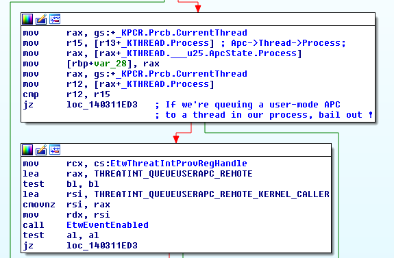 Reverse Engineering 0x4 Fun: Circumventing Windows Defender ATP's